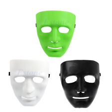 Plastic Plain Full Face Mask Party Dance Costume Crew For Dance/Opera Hip Hop