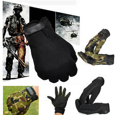 Outdoor Sports Men's Military Tactical Airsoft Hunting Motorcycle Full Gloves