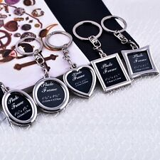 Hot Creative Metal Alloy Insert Photo Picture Frame Keyring Keychain Gift New