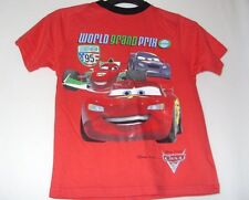 bnwt Disney Store Boys Disney Pixar Cartoon Character Cars 2 top 7-8 years 128cm