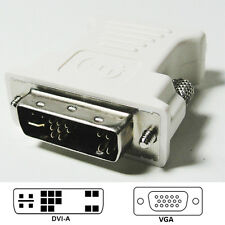 Dell Male DVI to VGA Female Video Adapter Connector DP/N 0J8461 - Wholesale