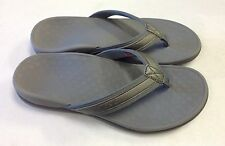 Vionic Orthaheel Tide II Leather Flip-flops w/ Arch Support
