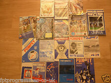 Portsmouth Home Programmes 1964/65 to 1986/87  Select from list