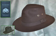 GENTLEMANS SMART  WAX FEDORA CHOCE OF SIZE AND COLOUR