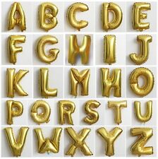 New Party Foil Balloons Choosing From A-Z Alphabet Decoration Can't Float