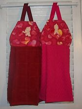 Cupids Hearts Bow & Arrow Valentine  Hanging Kitchen Oven Dish Towel HCF&D