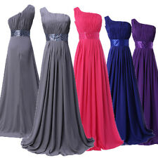 CHEAP NEW Long Chiffon Formal Bridesmaid Party Evening Prom Dress Cocktail Gowns