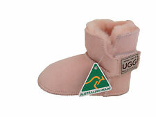 Australian Made Genuine sheepskin Baby UGG Boots Colour Pink