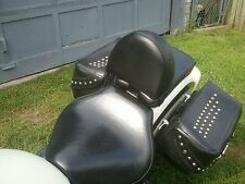 Yamaha 1100 V Star Classic Motorcycle Drivers Backrest Complete