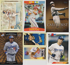 2009-10 Baseball Inserts From Various Sets BOGO