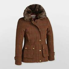 New Stunning Ladies Frankie Tweed Jacket With Fur Collar Must SEE Clearance