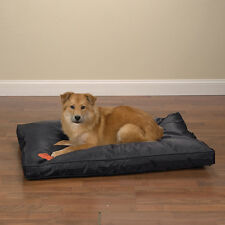 Heavy Duty Chew Resistant Indoor Outdoor Dog Bed - Tough but Soft Nylon & Teflon