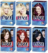 Schwarzkopf Hair Color LIVE XXL Choose From 23 Assorted Shades