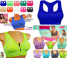 Sport BH TV Push up Bra  Bixtra Comfort Neon Farben Bustier TOP NEU
