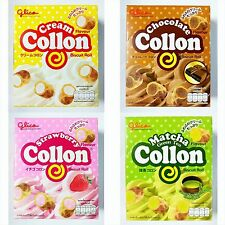 glico Collon Filled Biscuit Roll Various Flavor