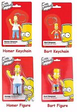 The Simpsons Bendable, Poseable, Figures, Keychains, Homer, Bart