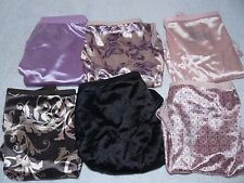 NWOT Hanes Womens Satin Stretch No Panty Lines Panties Hi-Cut Size 8