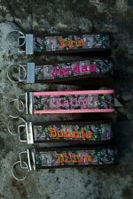 Personalized Real Tree Key Fob Keychain Made to order