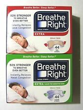 Breathe Right  Nasal Strips Extra or Extra Clear, 44 Strips **Nasal Congestion**