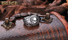 Flame Skull Titanium Steel Ring For Harley Davidson Special Collection Ring