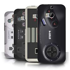 STUFF4 Back Case/Cover for HTC One/1 M8/Games Console