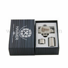 silver U Pipe Mechanical Vaporizer Mod Vaping Tank iclear 30s ic30s free coil