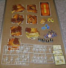 SELECTION OF ADVANCED HEROQUEST BOARD GAME SPARES LOTS; TILES, FIGURES, ETC