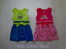 DISNEY Girls PRINCESS 3T or TINKERBELL 18M 24M 3T Tank Top Dress Outfit U-PICK-1