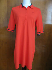Lacoste women's red dress size US 2 4 12 Euro 34 36  44 NWT