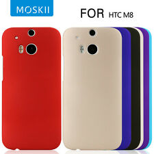 Moskii Slim Premium Matte Hard Back Shell Case Skin Cover For 2014 HTC One 2 M8