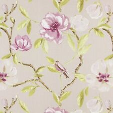 Prestigious Tetxiles Chinoise Floral Cotton Curtain Upholstery Fabric | Mulberry