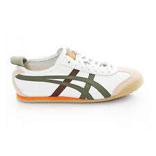 Asics Onitsuka Tiger Mexico 66 Schuhe Sneaker HK60F-0186 Weiß Olive