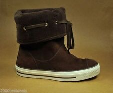 CONVERSE All Star Chuck Taylor Andover Boots Shoes Dark Chocolate Women Sneakers