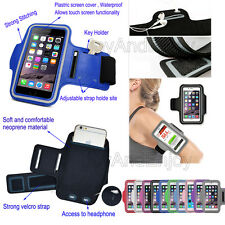 Sports Running Jogging Cycling Arm Band Pouch Strap Holder Case Cover For iPhone