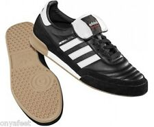 MENS ADIDAS MUNDIAL GOAL INDOOR FOOTBALL TRAINERS FUTSAL BOOTS SHOES BLACK WHITE