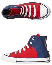 New Converse Boys Kids All Star Easy Hi Shoe Rubber Children Boy's Shoes Red