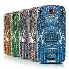 STUFF4 Back Case/Cover/Skin for HTC One S/Aztec Animal Design