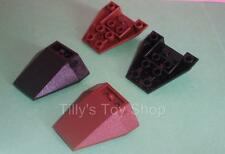 Lego - 2  4x4 Triple Inverted Wedge Brick - ID 4855 - Pick a Colour - NEW
