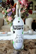 Studio Ghibli Totoro Wine Bottle Lamp