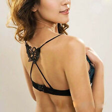 NEW Womens Girl Fashion Sexy Underwear Cross Back Butterfly Bra Shoulder Strap