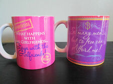 "LADIES HUMOUR FUNNY"" SLOGAN MUGS. NEW. 4 DESIGNS. GREAT BEST GIRLFRIEND GIFT!"