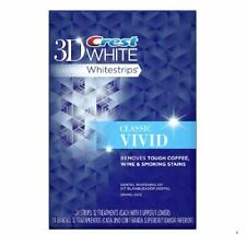 Vivid Classic - Crest3D White Teeth Whitening Strips - You Choose: 5, 10, 12