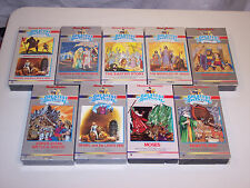 YOU CHOOSE vhs hanna-barbera's the greatest adventure stories from the bible