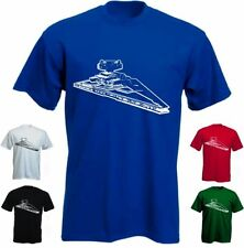 STERNENKREUZER Fun Shirt-star wars dvd raumschiff Shirt - S-5XL/Männer MEN (2)