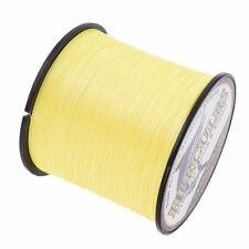 1500M 2000M Yellow Super Strong Braid Spectra PE Dyneema 4 Strands Fishing Line