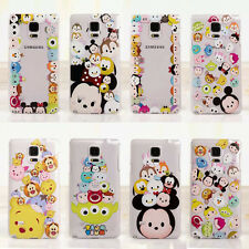 New Cute Disney Cartoon Animal Clear Hard Case Cover For Samsung Galaxy Note 3 4
