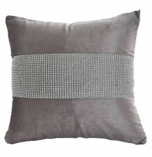 """LOVELY LARGE 24""""x24"""" CUSHION COVERS WITH WOVEN EDGING, OPTIONAL PLUMP INNER PADS"""