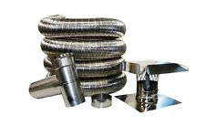 Flexible Stainless Steel Standard Chimney Liner Kits, Various Sizes Available