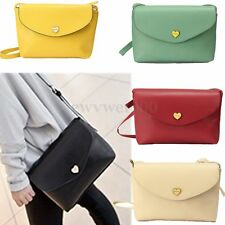 Fashion Lady Women PU Leather Satchel Messenger Shoulder Bag Cross Body Handbag