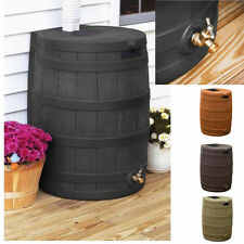 NEW Rain Wizard 40 Gallon Garden Water Barrel in Multiple Colors